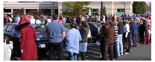 Zenkaikon 2009 pre-registration pick up line - by Kelly Rowles