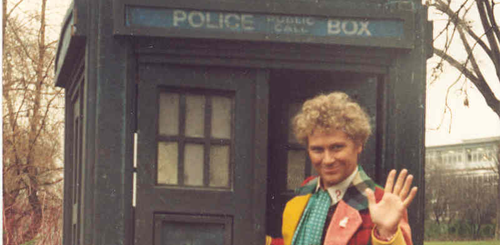 Doctor Who's Colin Baker