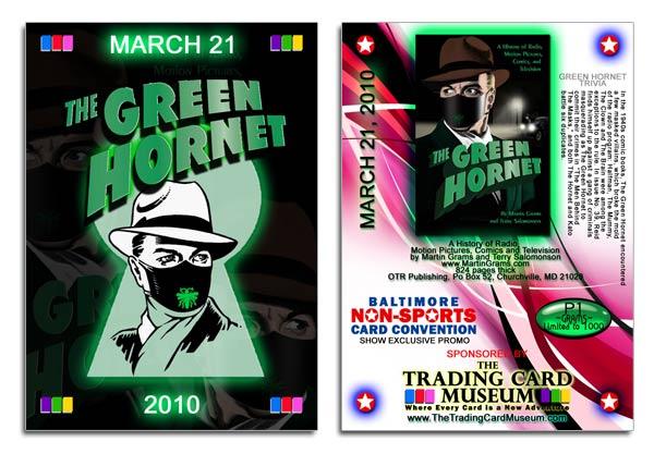 Green Hornet card