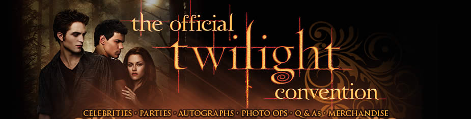 Official Twilight Convention Banner