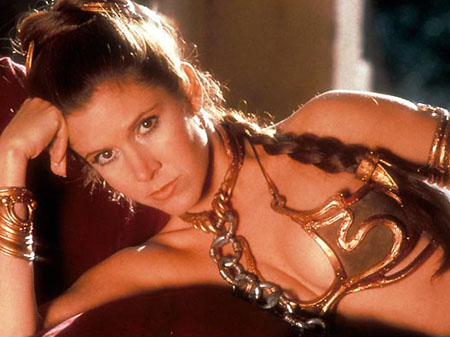 Princess Leia Chained