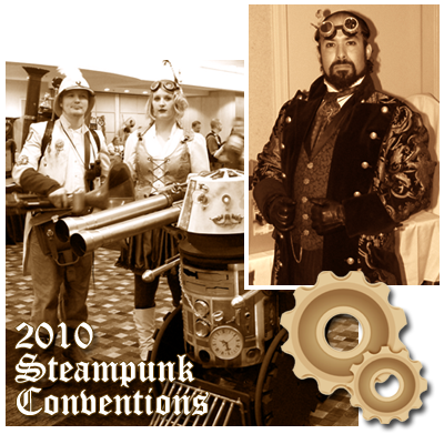 Upcoming Steampunk Conventions for 2010