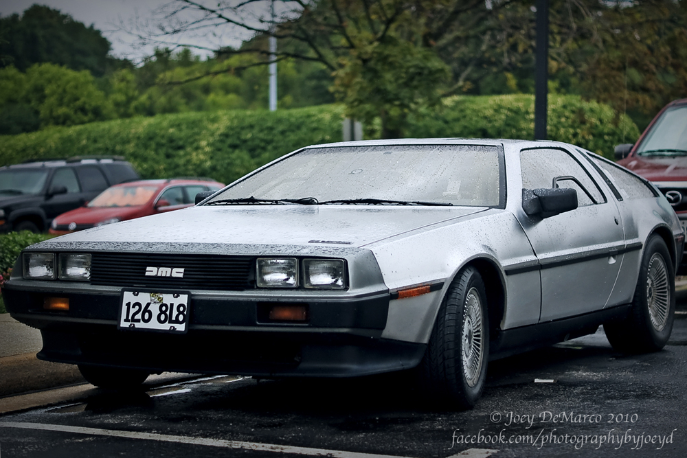 DeLorean at Shore Leave 32, photo by Joey DeMarco (all rights reserved)