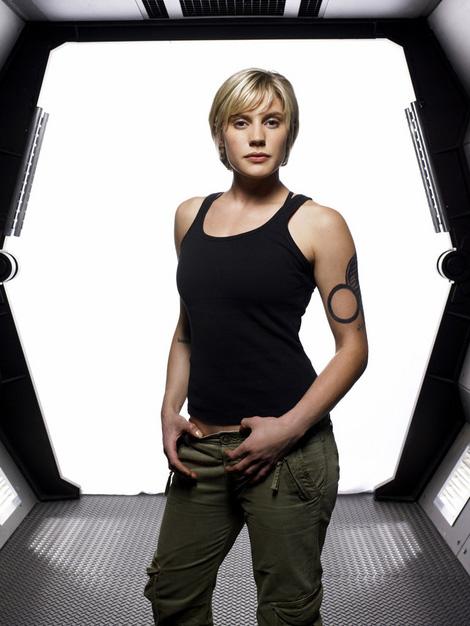 Katee Sackhoff from Battlestar Galactica