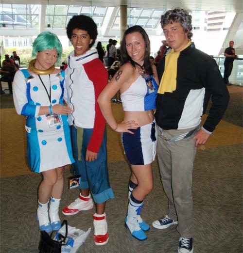 Eureka 7 cosplayers at Otakon 2010