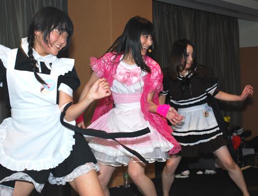 Reni Mimura and her Moe girls perform at Inochicon