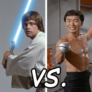 StarTrek vs StarWars