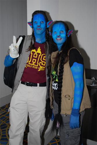 Avatar costumes (photo by Kelly Rowles)