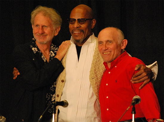 Rene Auberjonois, Avery Brooks, and Armin Shimerman at Dragon*Con 2010