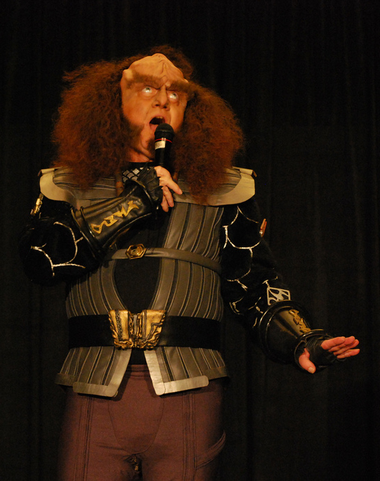 Gowron at Dragon*Con 2010