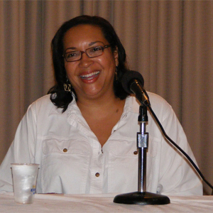 Author L. A. Banks at PhauxCon 2009