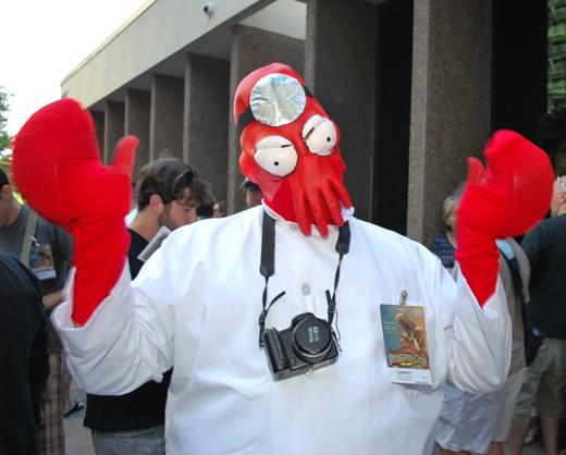 ZomBart as Dr. Zoidberg at Dragon*Con 2010
