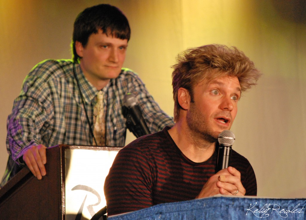 Vic Mignogna at Zenkaikon 2011 (photo by Kelly Rowles)