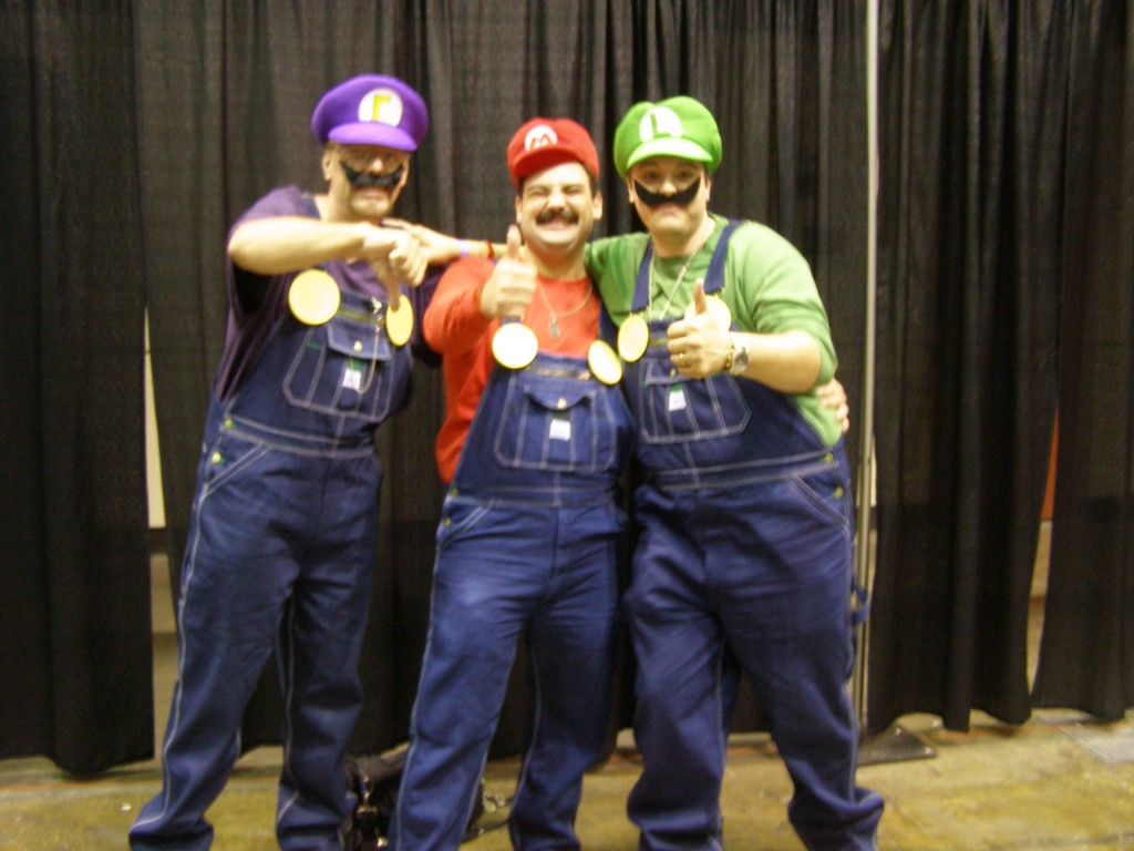 Mario Cosplayers at MegaCon 2011