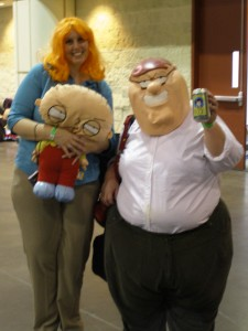 Family Guy Cosplayers at MegaCon 2011