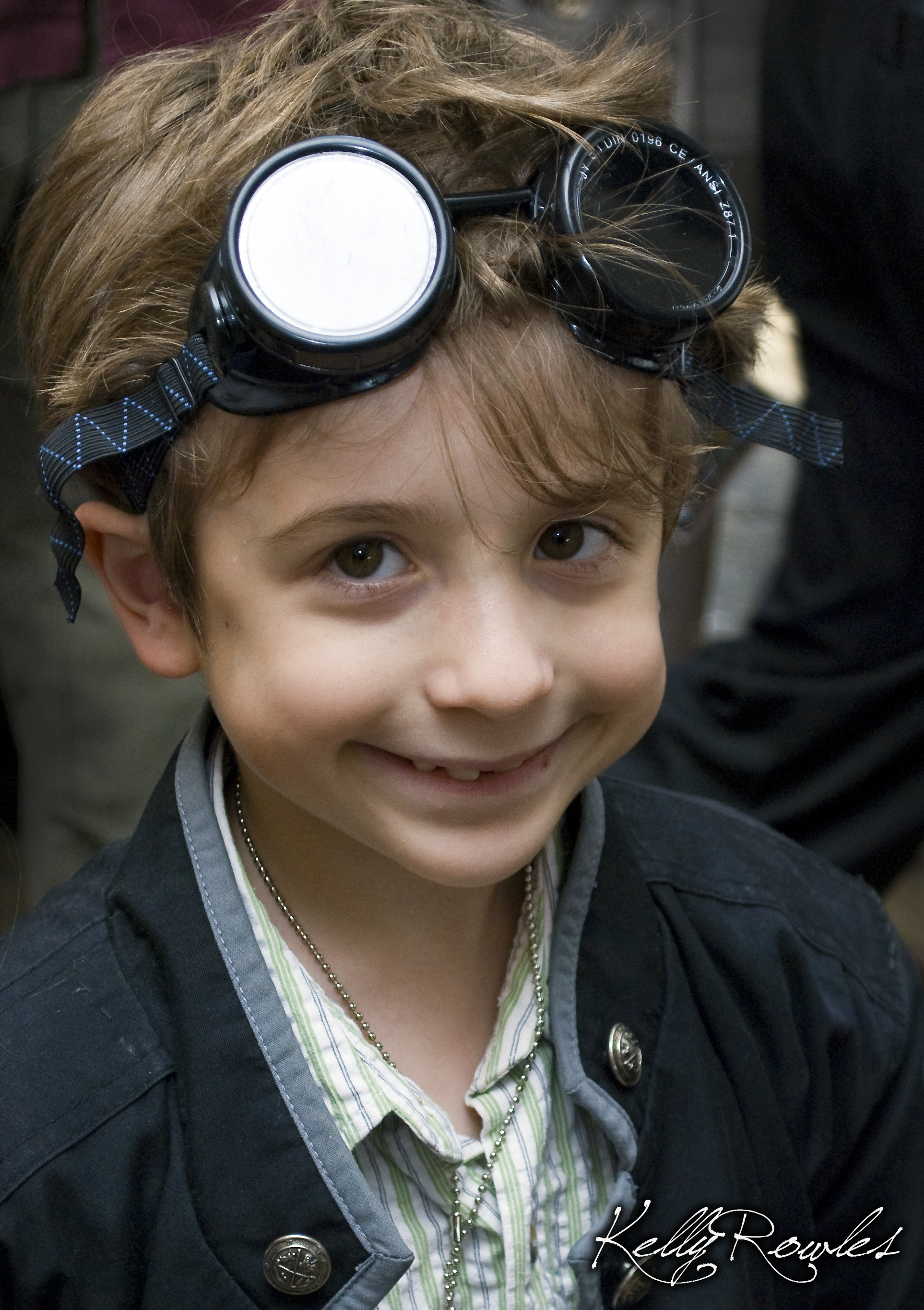 Cutest. Steampunker. Ever. (photo by Kelly Rowles)