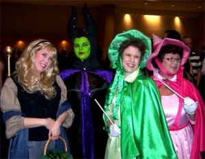 Sleeping Beauty cosplayers