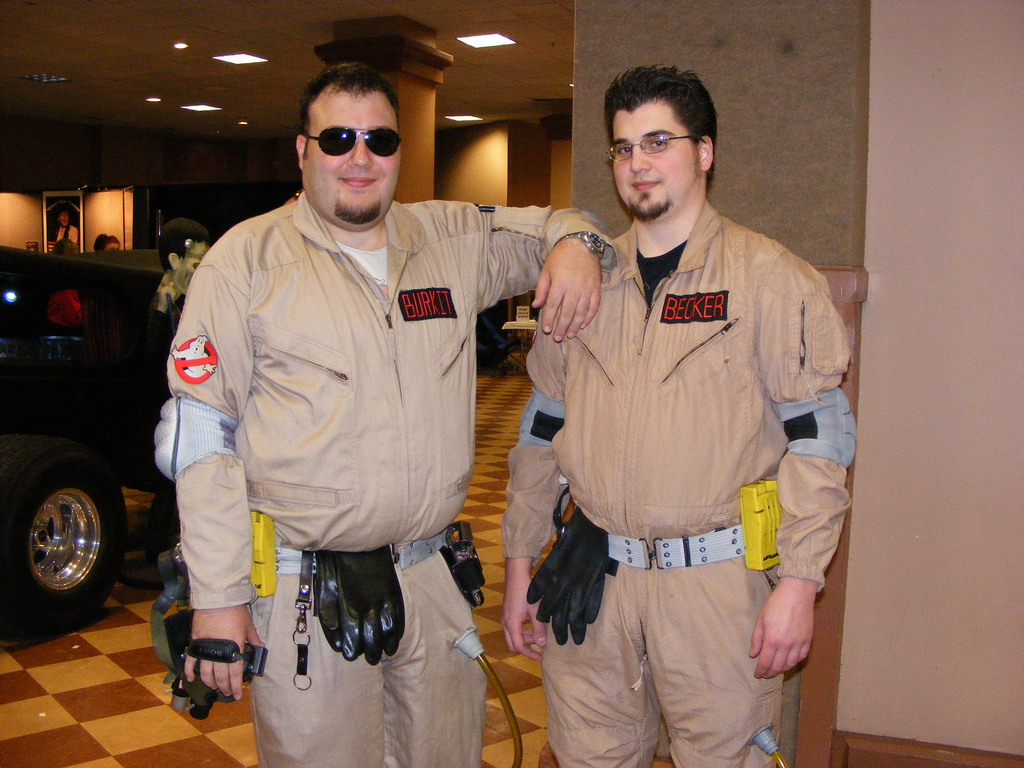 Ghostbusters from the 2010 National Halloween and Haunters Convention