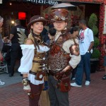 Steampunks in the Gaslamp at SDCC 2011