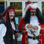 Captain Hook and Smyth cosplayers at SDCC 2011
