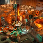 TARDIS Interior set for Doctor Who's 11th Doctor