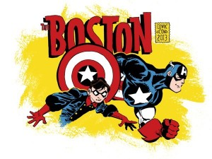 Boston Comic Con 2013 T-shirt