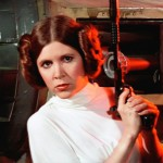 Carrie Fischer as Princess Leia
