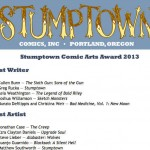 Screen Shot Stumptown Comics Fest Voting Page